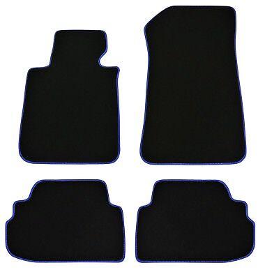 Fußmatten für BMW 1er E82 Coupe Bj.2007-2013 Original Doppelnaht Velours+4 Klett