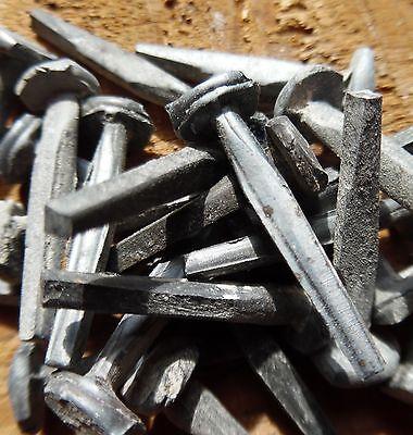 "(20) 1"" - ANTIQUE BRAD NAIL  -  Vintage-Rustic 1"" small Brad nails 4"