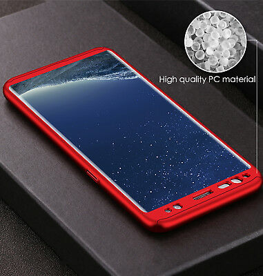 Luxury 360 Degree Full Cover Phone Shockproof Case For Samsung Galaxy S9 S8 Plus 5
