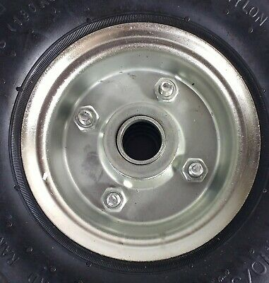 Pneumatic Jockey Wheel Replacement For Caravan Boat Trailer Maypole Mp2291 2