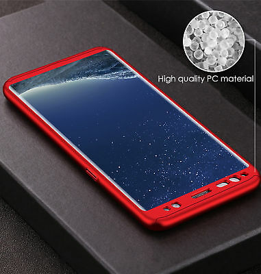 For Samsung S8 S9 S10 S10E Case Luxury 360 Hard Shockproof Case+Screen Protector 4