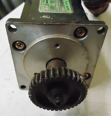 Yaskawa Electric Ac Servo Motor Type/model# Usasem-02Fj23  011,154W S/n 1L628L-1 3
