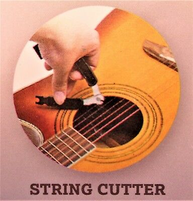 3 in 1Guitar String Winder, Plug Puller & String Cutter - Guitar Banjo Mandolin
