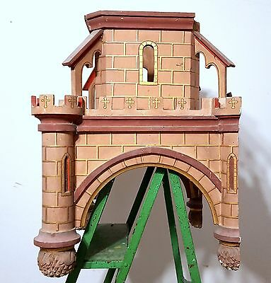 Gothic medieval chateau wall shelf Antique french wood architectural salvage 4