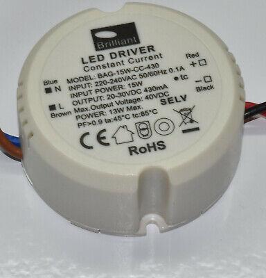 BRILLIANT LDL25W45042ND LED Driver Trafo Transformator DC 27-42VDC 450mA 18 Watt