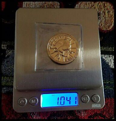 John Wick Challenge Coin Krugerrand Pop Continental Hotel Assassin Keanu Movie 11