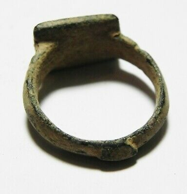 Zurqieh -As10956-  Holy Land. Byzantine Bronze  Ring. 700 A.d 3