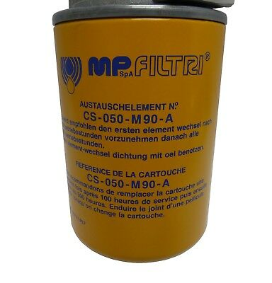 MPS-050-S-G1-M90-A-T MP Filtri Leitungsfilter mit Spin-on Filterpatrone