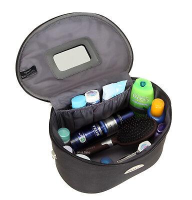 Schminkkoffer Beauty Case Kosmetikkoffer Beautycase Damen Koffer bag 531 Schwarz 2