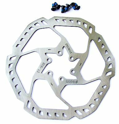 PROMAX ultra light stainless 203mm IS disc brake rotor 151gr AVID//HAYES//SHIMANO