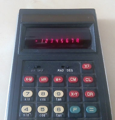 Very Rare  Vintage Abatron 808 Scientific Calculator 2