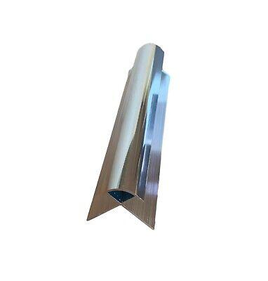 Aluminium Trims For 10mm Shower Wall Panels Bathroom End Cap Corners H Join 2.4m 12