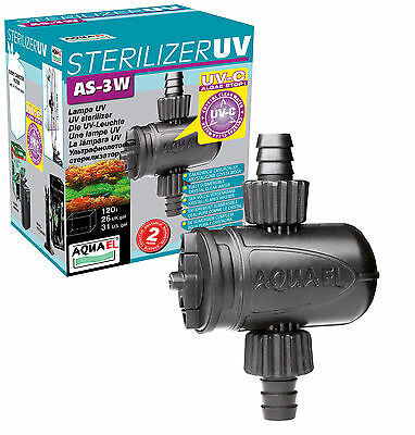 Aquael Aquarium UVC Klärer Aquarien Filter Sterilisator UV AS UV-C 3W 5W 9W 11W 4
