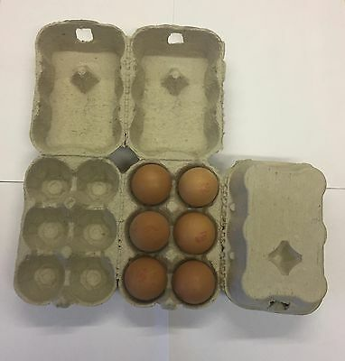 150 Half Dozen New Egg Boxes/cartons Suitable For Chicken/duck Hen Eggs 3