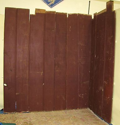 Antique Painted Kitchen Wooden Wall Boards from 1735 Shipping Available 2
