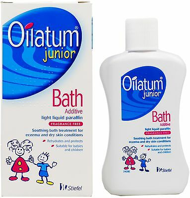 Oilatum Junior Bath Additive Light Liquid Paraffin Fragrance Free - 150Ml 2