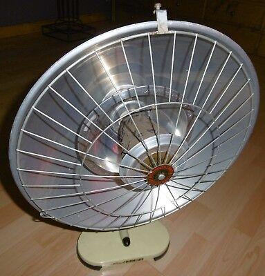 arzt tisch /wand lampe wärme alt top deko mint / gelb thermolite super 60 / 70er 8