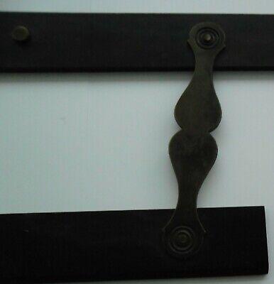 Antique Ebony / Brass Parallel Rule 5