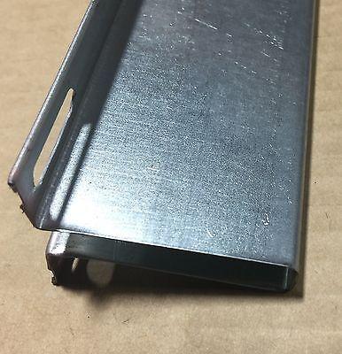 5 Of 10 2 Horizontal Garage Door Opener Reinforcement U Bar Strut Brace For  8u0027 Wide Door