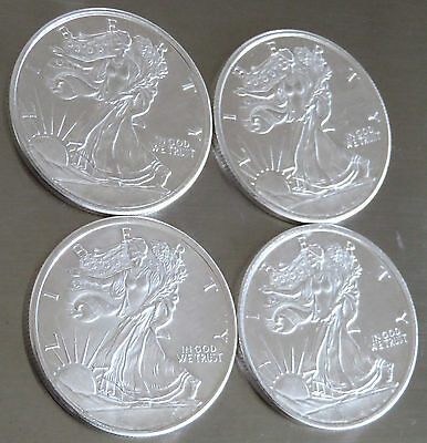 1//2 Troy Oz .999 FINE SOLID SILVER ART-ROUND Golden State new WALKING LIBERTY