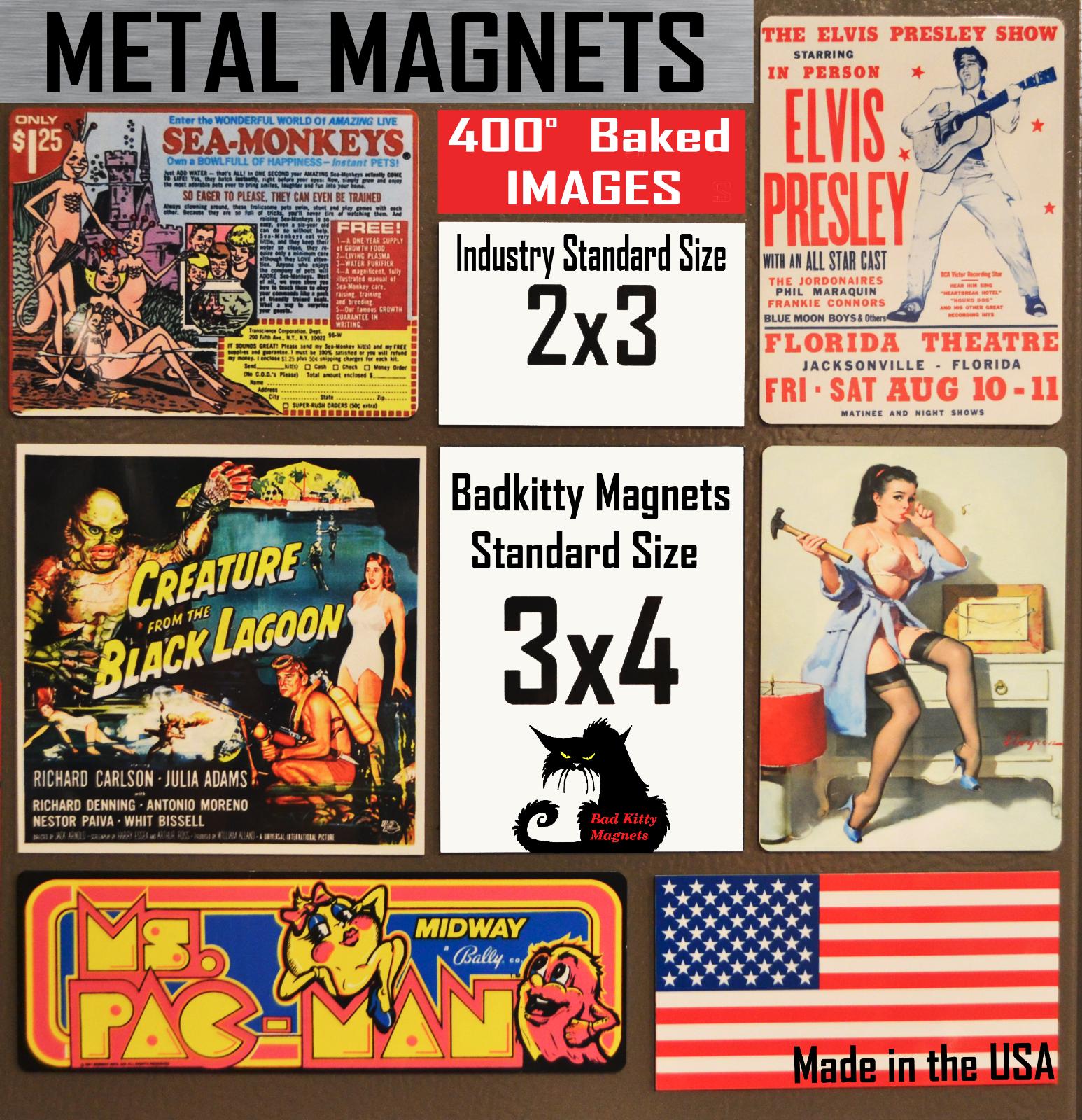 Betsy Ross American Flag  High Quality Metal Fridge Magnet 3x4.5 8954 2