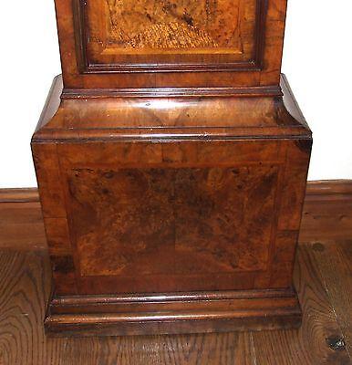 ~ RARE MONTH GOING Antique Walnut  Longcase Grandfather Clock Etherington LONDON 9