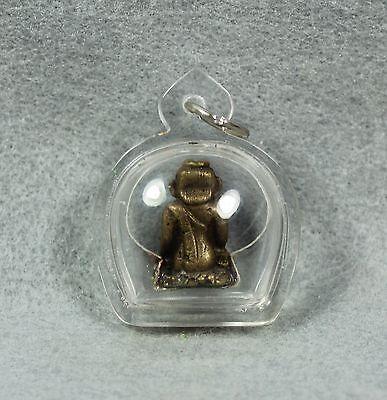 Nang Kwak Lady Statue Business Success Wealth Luck Charm Thai Amulet Buddha