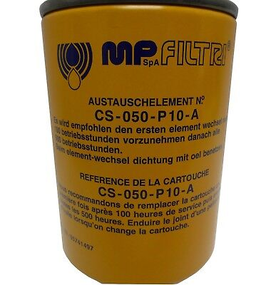 MPS-050-R-G1-P10-A-T MP Filtri Leitungsfilter mit Spin-on Filterpatrone