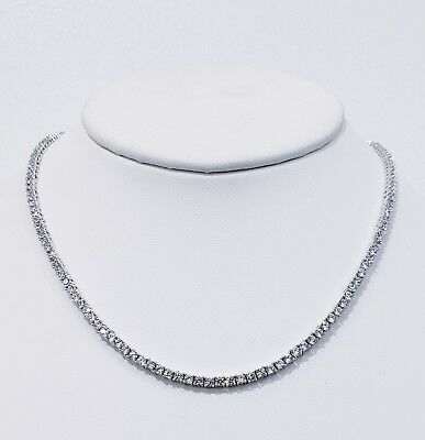3Mm Diamond Tennis Chain Vvs1 Crystals Best Quality 14Kt Real Gold Finish 2