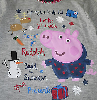Boys/Girls Pyjamas Official Peppa pig or George Pig 4