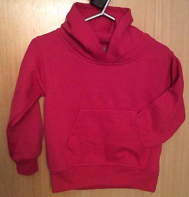 ISOBEL 09 Graphic Cerise Hoodie Sweatshirt.  Age 5-6 Years.  Polycotton 2
