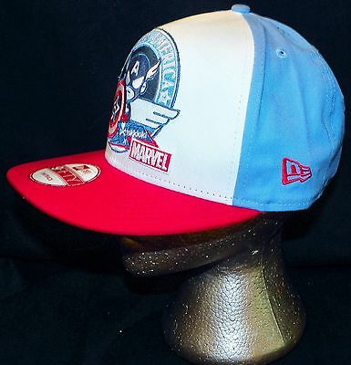 new concept 4a11a 104cf ... Tokidoki Marvel Comics Captain America New Era 9FIFTY Disney Store  Baseball Hat 6
