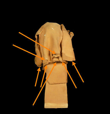 Busto de Mujer de Barro Cocido 11,5 cm Accidentes y Miss You Woman Escultura 7