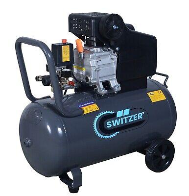 Mobile Air Compressor >> Switzer Mobile Air Compressor 50 Litre 2 5hp 8 Bar With