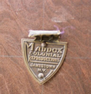 18th Century Style Mahogany Secretaire Bookcase Maddox Furniture Co Jamestown NY 6