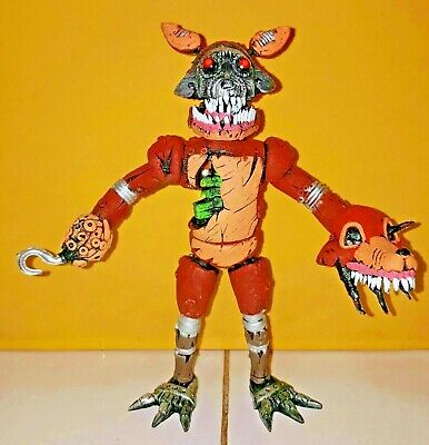 """mexican FIVE NIGHTS AT FREDDYS TWISTED FAZZBEAR 8/"""" action Figure ANIMATRONIC"""