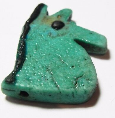 ZURQIEH -asw172- ANCIENT EGYPT , STUNNING COLOR. LARGE EYE OF HORUS AMULET 4