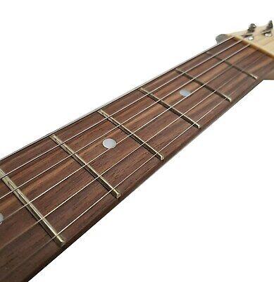 Optik ! E-Gitarre Matt Blau - Pickup Glanz Schwarz - Elektrogitarre - Tremolo -# 8