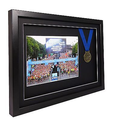 Vivarti Sports Shirt, Medal, Running Number Competition Display Picture Frame 2
