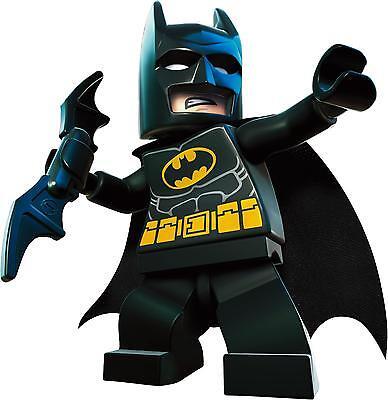 LEGO SUPERHERO Set Superman Spiderman Batman Wall Stickers Decal ...