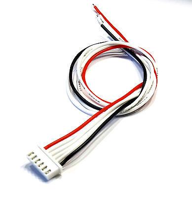 XH Lipo Akku Balancer Kabel Lead Balancerkabel 2s 3s 4s 5s 6s 30cm 24AWG JST-XH 2