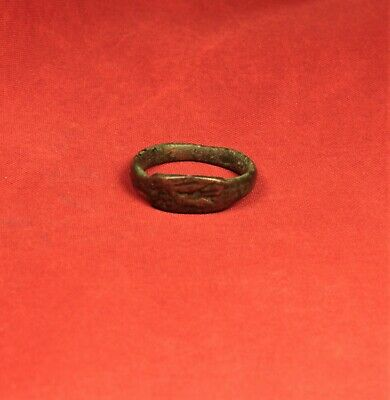 Ancient Hellenistic Seal Ring, Finger Ring, 800 B.C. - Ancient Greek 3