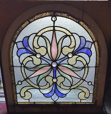 Antique Philadelphia stained glass window 2