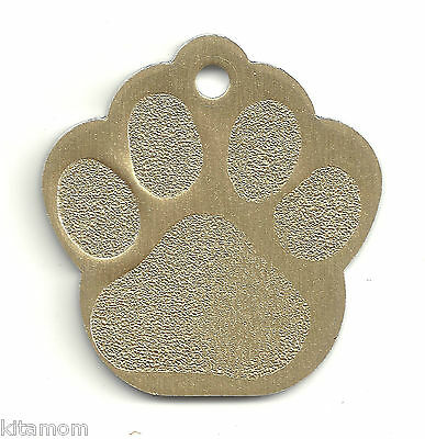 K-9 Dog Paw Animal Foot Print Pet ID Label Name Tag 5