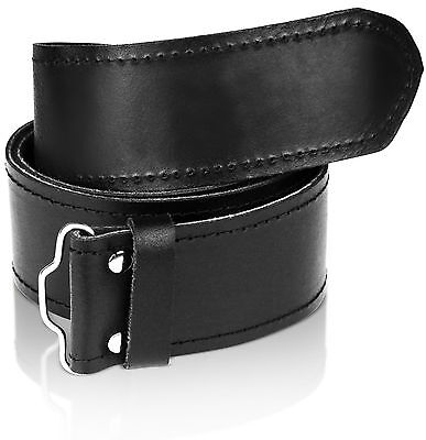 Pelle Cintura E Fibbia 4 Scozzese Kilt Vestito Highland Misura regolabile