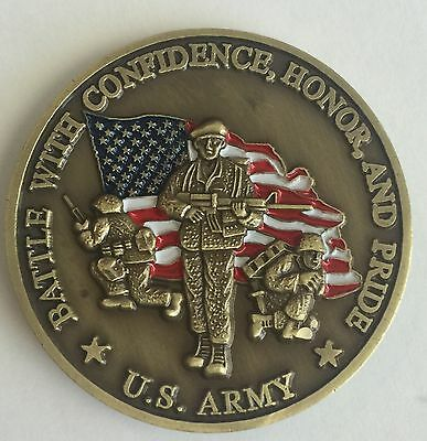 CAMP ASHLAND, NEBRASKA Army National Guard HOOAH NE ARNG US ARMY Challenge  Coin