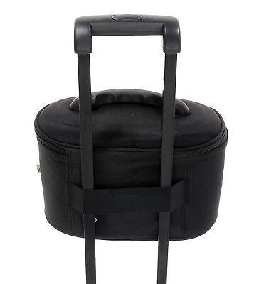 Schminkkoffer Beauty Case Kosmetikkoffer Beautycase Damen Koffer bag 531 Schwarz 6