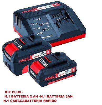 Soffiatore a batteria per foglie elettrico EINHELL GE- CL 18 Solo o Kit Batterie 4