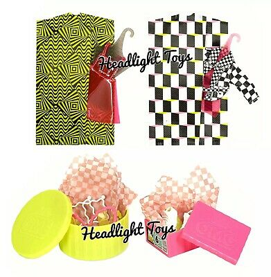 "1 LOL Surprise OMG NEONLICIOUS 10"" Fashion Doll Neon QT Holiday Winter Disco 8"