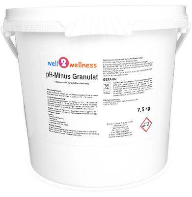 pH Minus Granulat / pH Senker Granulat / pH Wert Senker in 19 versch. Größen 8